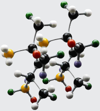Molecular properties and computer modeling of polymers based on biomonomers (27.11.15)